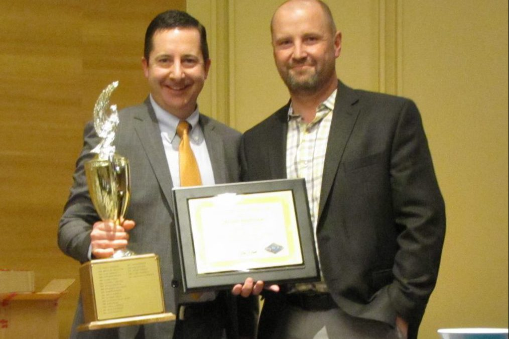MICHAEL SANDERSON HONORED WITH DISTINGUISHED SERVICE AWARD BY THE BILLINGS ENGINEERS CLUB