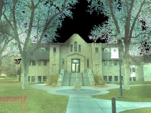 Rocky Mountain College Campus LIDAR Survey