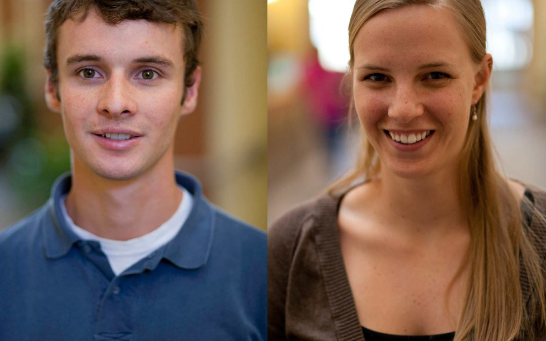 MEET SANDERSON STEWART'S TWO NEWEST PROFESSIONAL ENGINEERS: SAM BOWER AND TESSA WERMERS