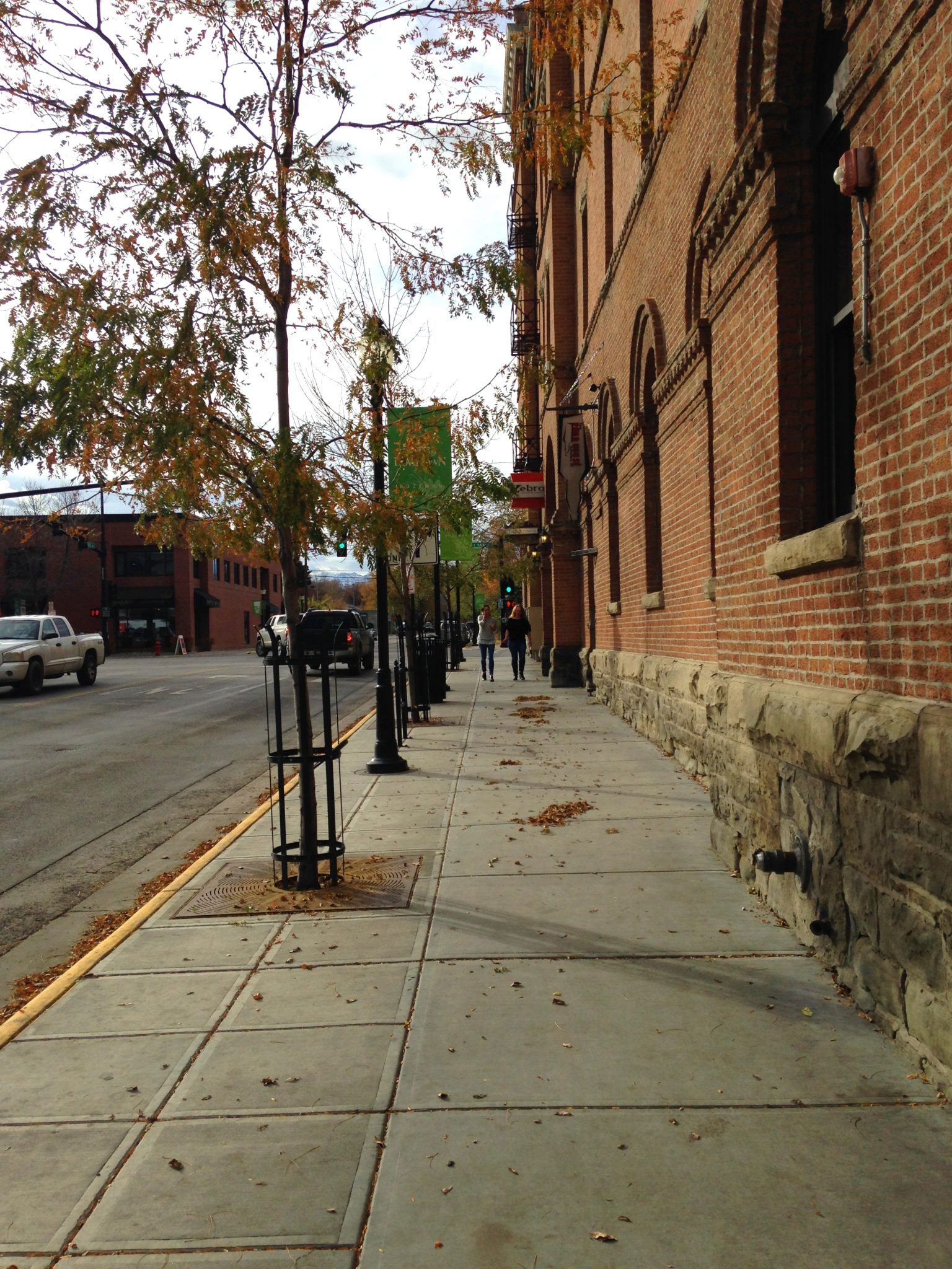 Streetscape To The North Of Hickory Click To Close: North Black Pocket Park • Sanderson Stewart