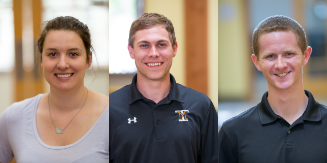MEET OUR NEW SUMMER INTERNS: RAEGAN STRAUS, CHANCE SPARROW, AND ANDREW JOHNSON!