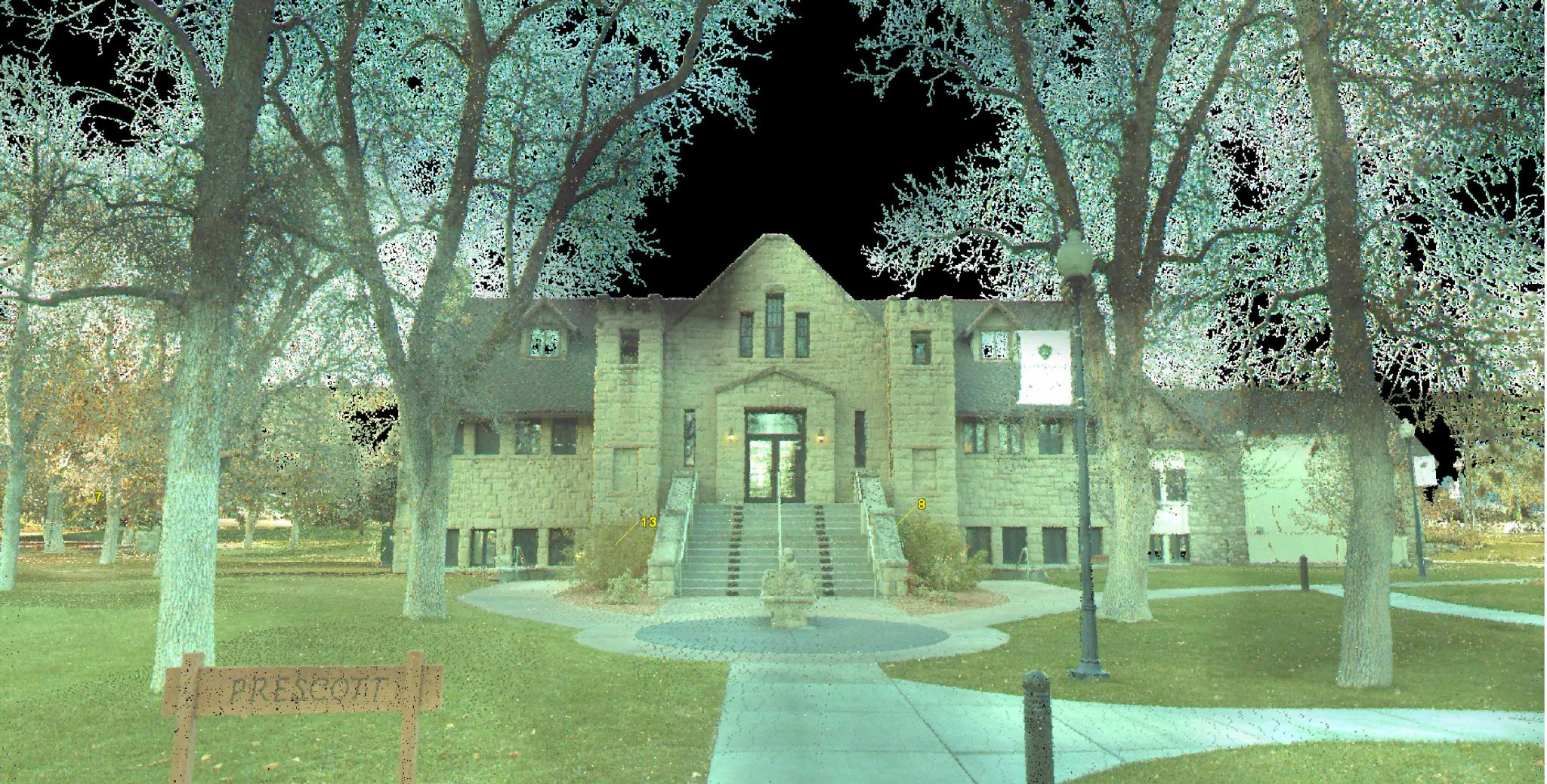 Rocky Mountain College Campus Map.Rocky Mountain College Campus Lidar Survey Sanderson Stewart