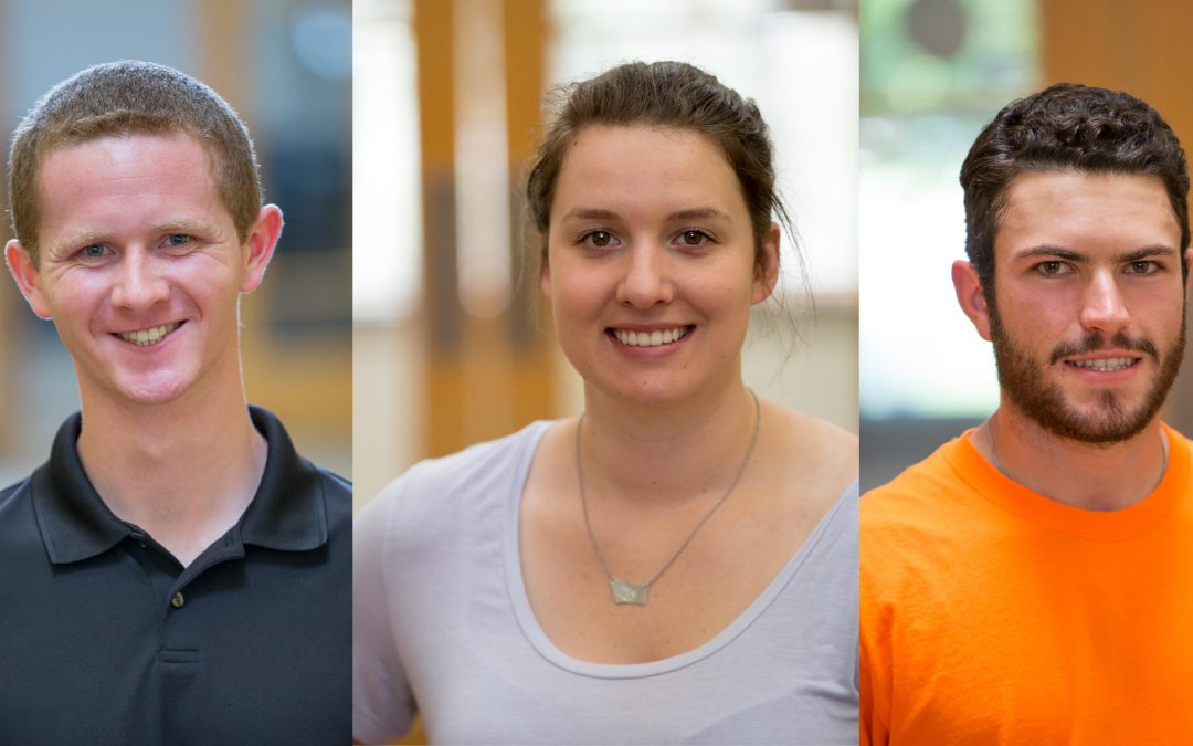 WELCOME ANDREW JOHNSON, RAEGAN STRAUS, & GREG ANDRIOLO: OUR 2019 SUMMER INTERNS